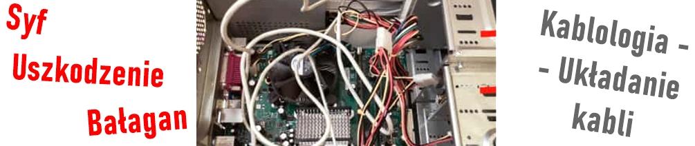 kablologia ułożenie kabli