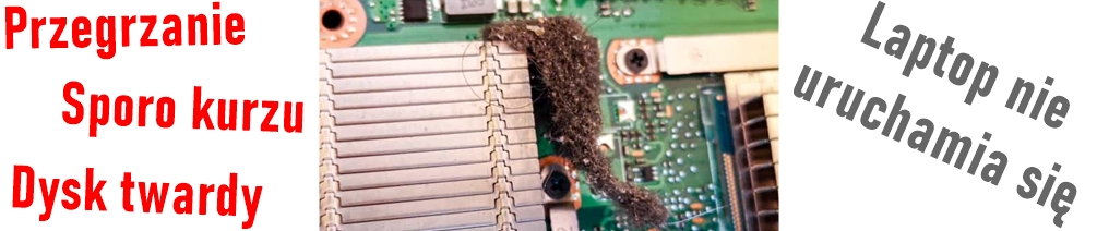 Odkurzanie i czyszczenie laptopa – ciężki przypadek