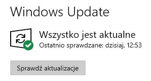 sprawdz aktualizacje windows update
