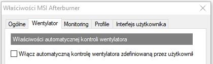 Wentylator msi