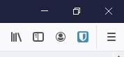 Bitwarden ikonka w Firefox