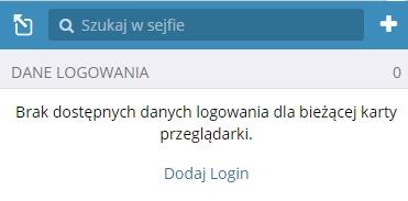 dodaj login Bitwarden