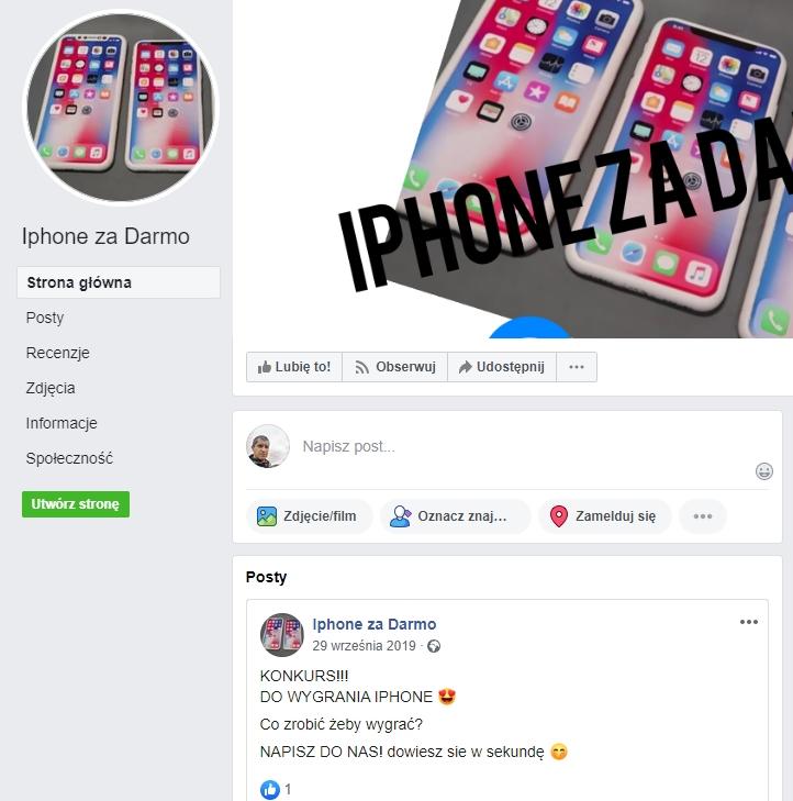 iphone za darmo