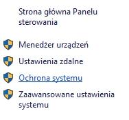 Ochrona systemu Windows10